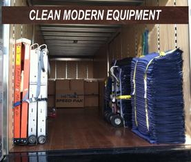 modern moving equipment for your pleasanton local move